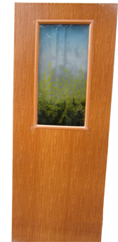 Ultima uPVC Decorative Glass Set Door
